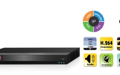 Provision-ISR – New series of AHD 8 Megapixels recorders – 10/09/2018